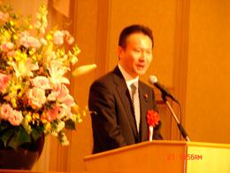 元法務副大臣、民主党 東京都総支部連合会会長 衆議院議員 加藤公一先生