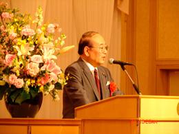 元国家公安委員長 衆議院議員 中野寛成先生